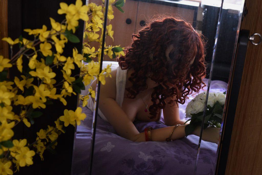 Erena dans le miroir