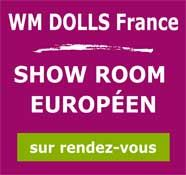 WM Doll logo showroom