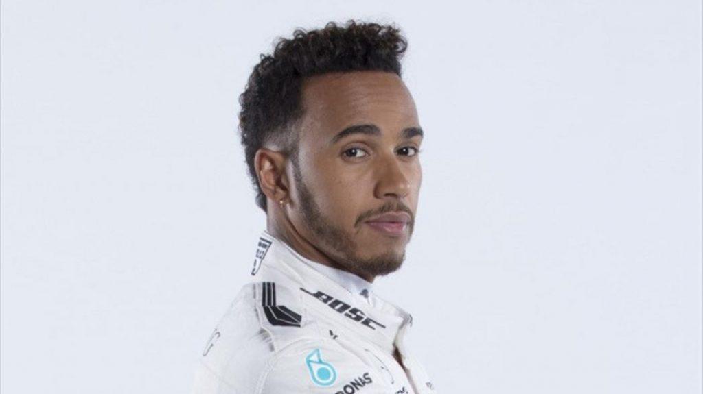 Le champion du monde de F1 Lewis Hamilton