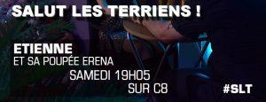 Salut les Terriens Etienne et Erena