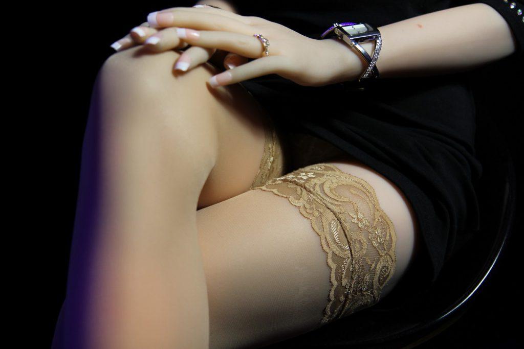 upskirt culotte blanche