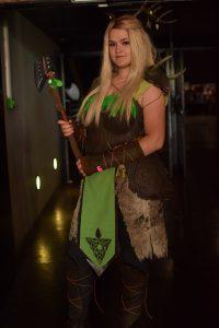 cute elfe girl